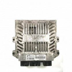 Calculateur Moteur CITROEN C2 Siemens, 5WS40115B-T, HW 9647568180, HW9647568180, SW 9648895880, SID804
