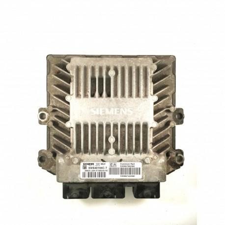 Calculateur Moteur CITROEN PEUGEOT Siemens, 5WS40155C-T, SW 9657662380, SW9657662380, HW 9647423380, SID 801A