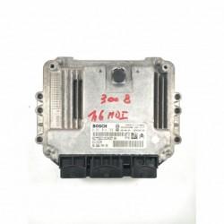 Calculateur Moteur CITROEN PEUGEOT 1.6 HDI  Bosch, 0 281 014 729, 96 656 744 80, 0281014729, 9665674480, 9653958980, EDC16C34