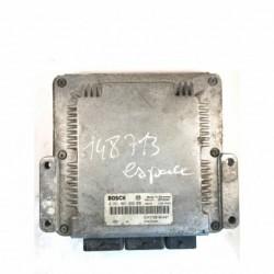 Calculateur Moteur  RENAULT ESPACE 2.2 DCI Bosch, 0 281 001 999, HOM 7700104407, 0281001999, HOM7700104407, 7700104407, 7700114854