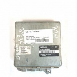 Calculateur Moteur BMW E36 Bosch, 0 281 001 243, 2 245 541, 0281001243, 2245541