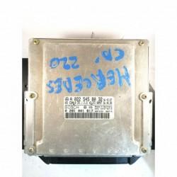 Calculateur Moteur MERCEDES 220 CDI Bosch, 0 281 001 817, CR1.1, 0281001817