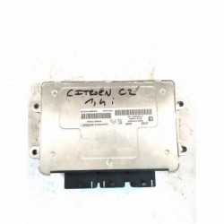 Calculateur Moteur CITROEN C2 1.4 Valeo, SW 9661700480, W9661700480, SW9661700480, HW9651696680, HW 9651696680