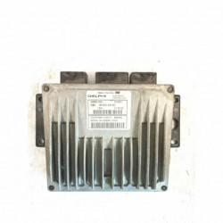 Calculateur Moteur CITROEN C3 Delphi, R 0411C001 H, PSA 96 500 434 80, R0411C001H, PSA9650043480