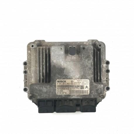 Calculateur Moteur PEUGEOT 206 2.0 HDI  Bosch, 0 281 011 783, 96 567 097 80, 0281011783, 9656709780, 9654490280, 1039S07241, EDC16C34