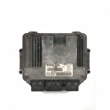 Calculateur Moteur PEUGEOT 206 1.4 HDI  Bosch, 0 281 010 707, 96 477 855 80, 0281010707, 9647785580, 96 471 580 80, 9647158080, EDC16C3 82, 1039S00914