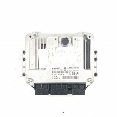 Calculateur Moteur CITROEN PEUGEOT 1.6 HDI  Bosch, 0 281 013 872, 96 648 437 80, 0281013872, 9664843780, 9653958980, EDC16C34